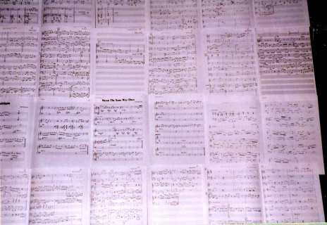 sheet music for bill s songs bill bruford